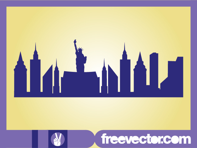 city landscape silhouette photo - 5