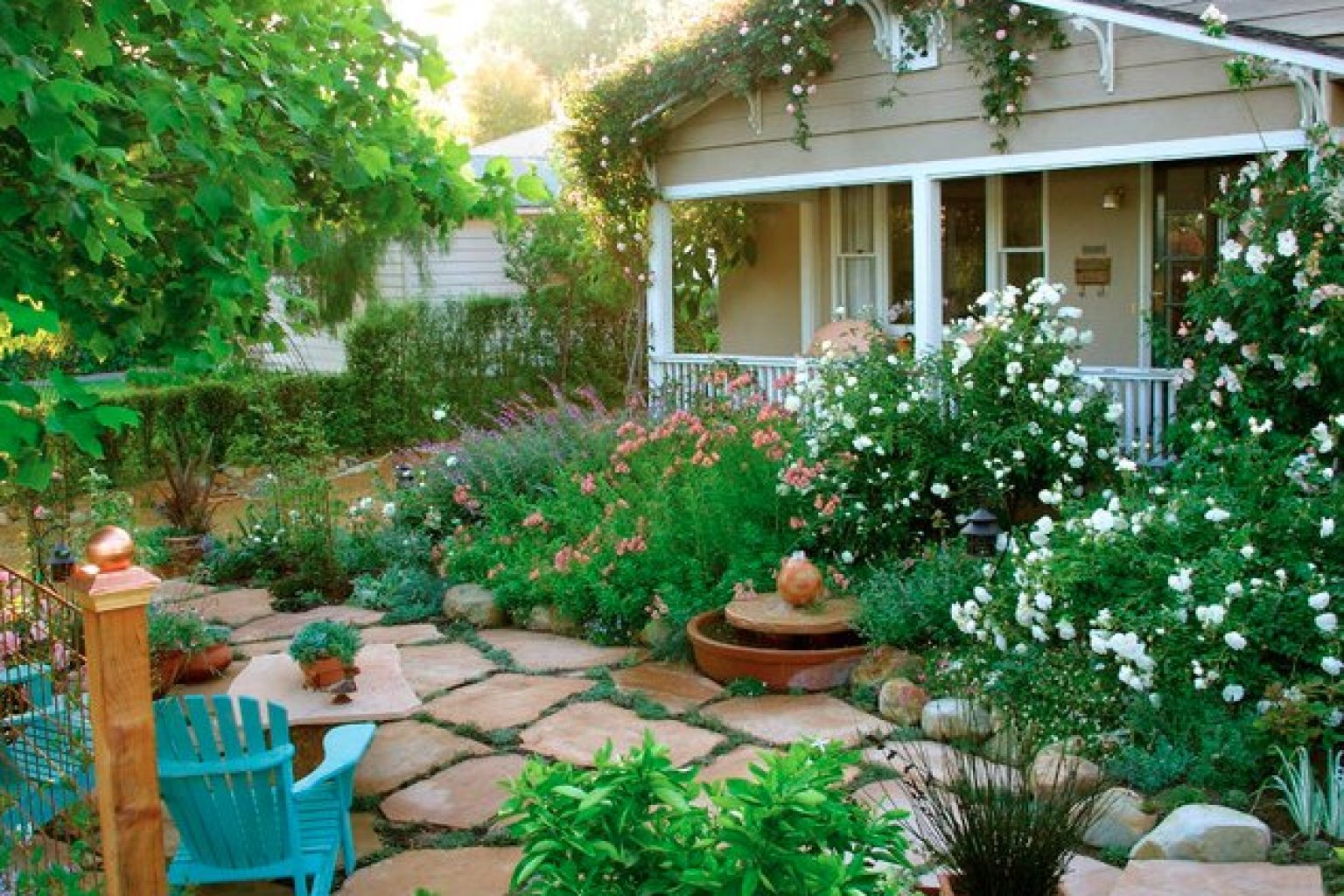 cottage landscaping photo - 8