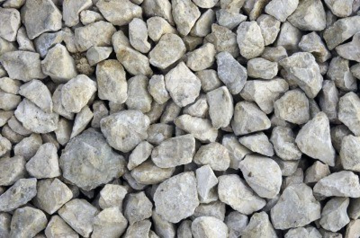crushed rock landscaping photo - 1
