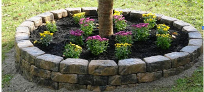 lowes landscaping edging photo - 1