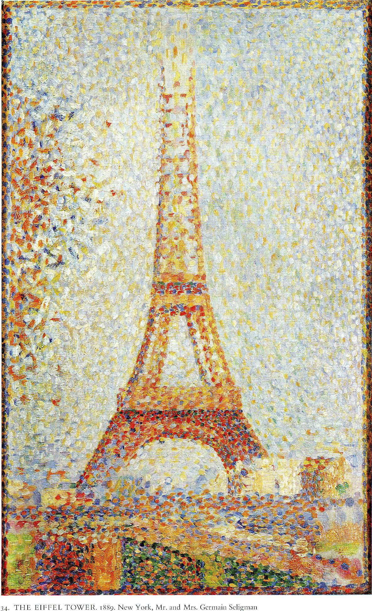 pointillism landscape photo - 4